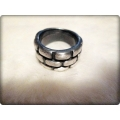 Aqua Line - Men of Thumb Rings - Steel In Style - BRICK